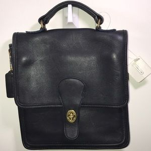 Coach Vintage Leather Station Bag